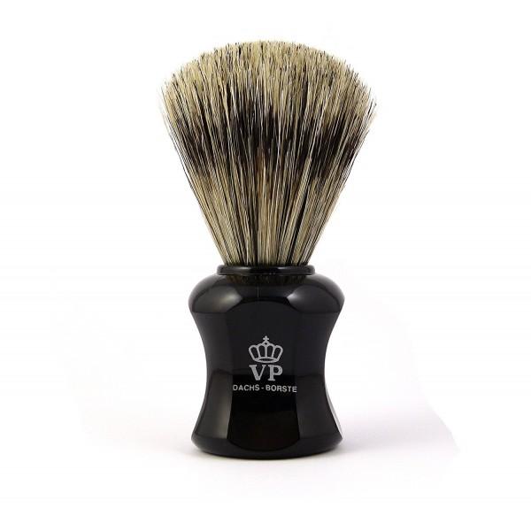 Rasierpinsel Royal VP - Dachsborste - Griff schwarz