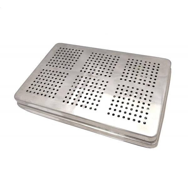 Instrumenten-Tray Containerkasette 290 x 190 x 45 mm