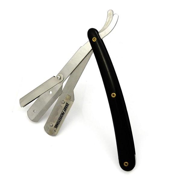 DACHS Germany® Einsteck Rasiermesser mit auswechselbarer Klinge (incl. 2 Wechselklingen)