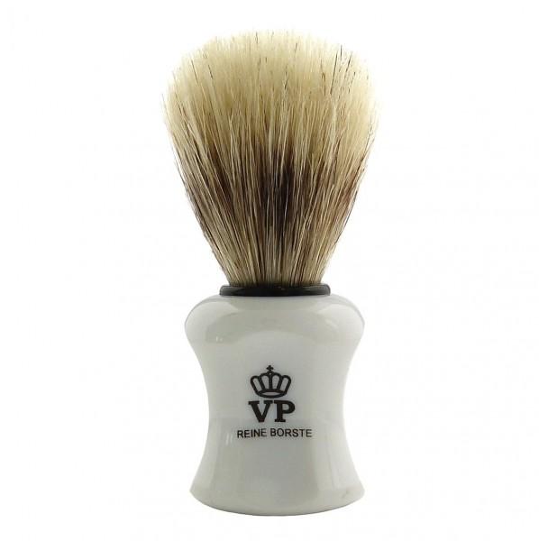 Rasierpinsel Royal VP - reine Borste - Griff weiß