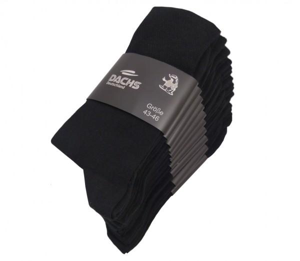 10 Paar Socken in verschiedenen Farben und Größen