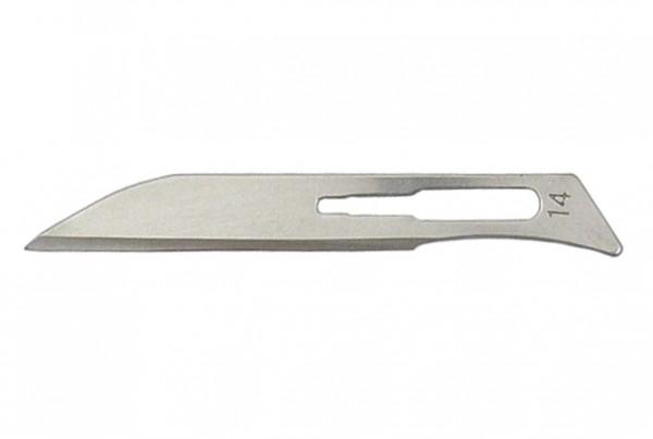 Skalpell Klinge Form 14 für Griff Nr. 3 - 10 Stück, nicht als Medizinprodukt zugelassen