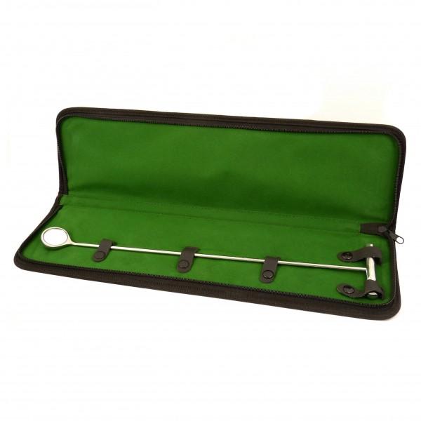 Dentalspiegel für Pferde - Durchmesser 30 mm - Gesamtlänge 42 cm
