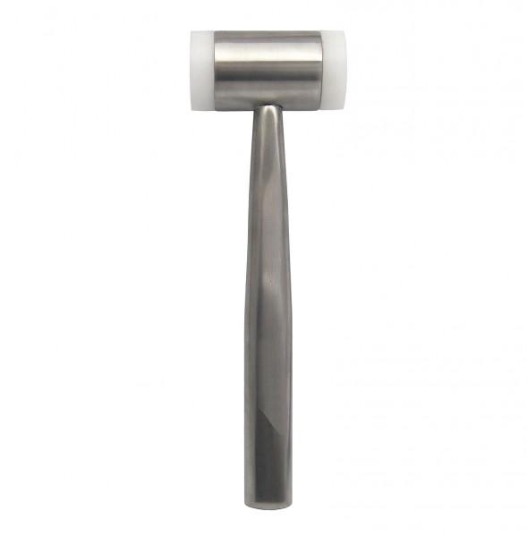 Hammer Metallhammer mit Kunststoff-Schlagflächen 17,5 cm - rostfrei und sterilisierbar