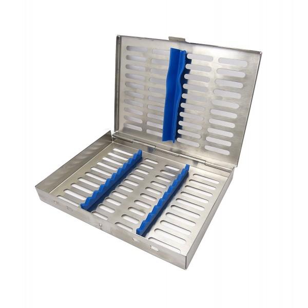 Instrumenten-Tray Containerkasette für 10 Instrumente 185 x 135 x 22 mm