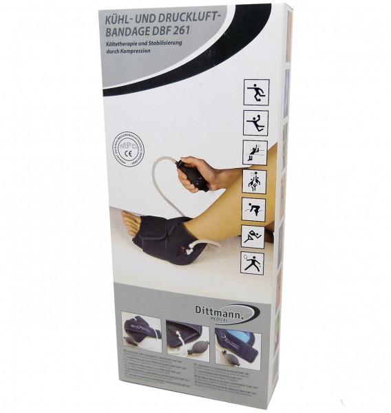 Dittmann. Medical Kühl- und Druckluftbandage Fuß DBF 261, Unisize