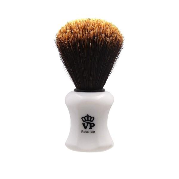 Rasierpinsel Royal VP - mit speziellem, hochwertigem Rosshaar - Griff weiß